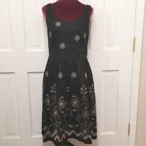 SANDRA DARREN Embroidered Dress